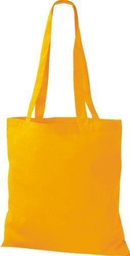 ShirtInStyle Premium Stoffbeutel Baumwolltasche Beutel Shopper Umhängetasche viele Farbe sunflower