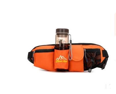 Zll/Outdoor Wasser Flasche Taschen Taschen Tasche für Handys der Tasche Bergsteigen Trips für Damen und Herren Running Orange