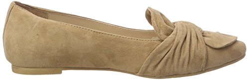 Bugatti Damen 411434603400 Geschlossene Ballerinas Braun (Sand)