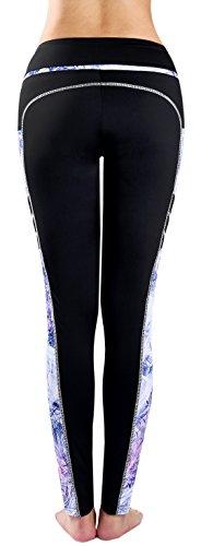 Zinmore - Legging de sport - Femme Black/Printed60