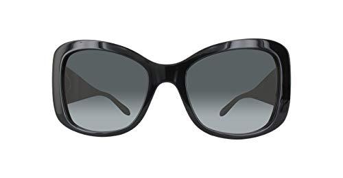 Moschino Damen MO854S-01SA-56 Sonnenbrille, Schwarz, 60