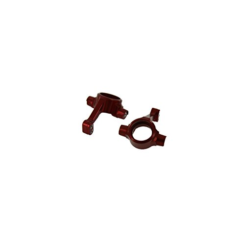 GPM Racing Front Knuckle Set for 1:10 Associated Prolite 4X4, Red -