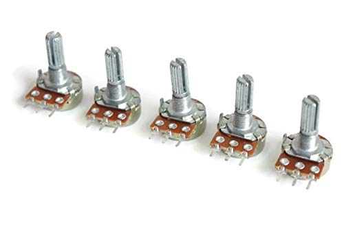 Electronicspices 10k Ohm Potentiometer Single Variable Resistor - Pack of 2