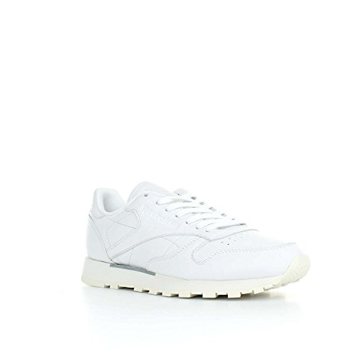 REEBOK Scarpe da Uomo CL LEATHER OMN White/Classic White