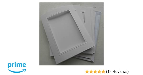 Black Oval Aperture 5 Double Fold 4x6 inch Craft Cards /& Envelopes