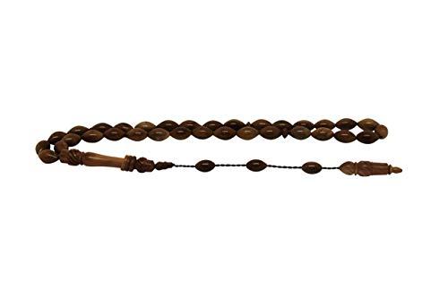 eSelam Kuka Classic Tesbih, Gebetskette aus Kuka mit schönen Details, feinste Handarbeit, Misbaha