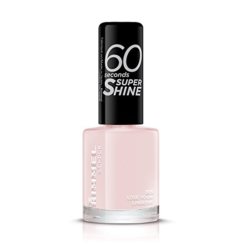 Rimmel Queen Of Tarts, 60 Seconds Super Shine Nail Polish, Pink, 8 ml