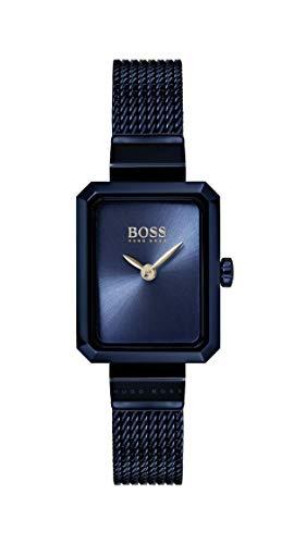 Hugo Boss Watch Femmes Analogique Quartz Montre avec Bracelet en Acier Inoxydable 1502433