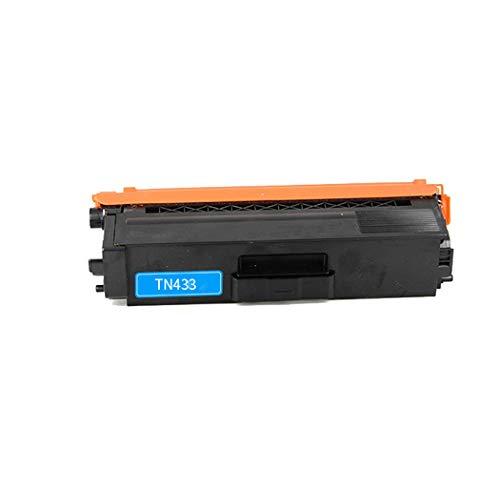 TONER DYF Kompatibel mit Brother TN433 TN433C TN433M TN433Y Tonerkartusche, geeignet für Brother HL-L8260CDW / HL-L8360CDW / HL-L8360CDWT / HL-L9310CDW / M Druckerfarbtonerkassette, 4 Farben Bürobedar