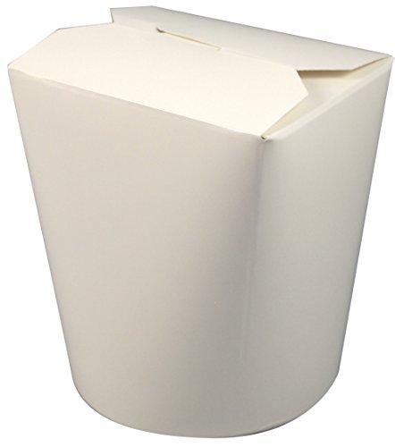 Fold-Pak SmartServ Food Container - ohne Bügel - 16 oZ - 470 ml, 500er Pack (500 x 1 Stück) (Lab Pak)
