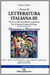 Sintesi di letteratura italiana: 3