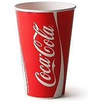 Preisvergleich für Coca-Cola 100x Tassen & Deckel Offizielles Marke 12oz