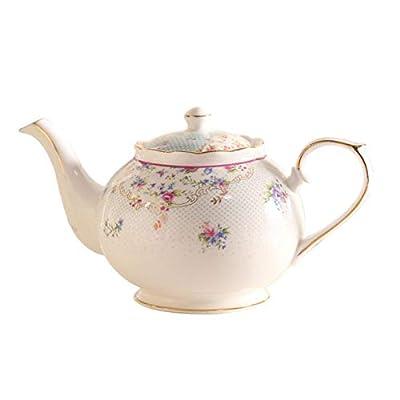 Théière En Céramique Service À Thé Anglais Pot En Céramique Bouilloire Grande Capacité Porcelaine
