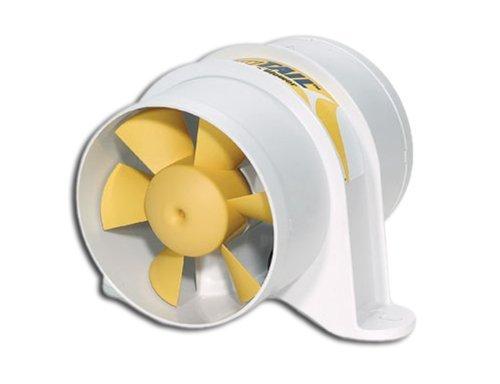Marine 10,2cm Inline-Gebläse für Boote–Gelb Schwanz–220CFM–SHURFLO von SHURFLO Gebläse Für Boote