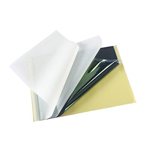 25fogli 21,6x 27,9cm Tattoo Carbon Thermal stencil transfer Paper Master unità