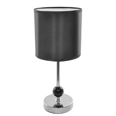 lloytron-lampe-de-table-noir-stem2-bille-en-acrylique-satin-plastique-abat-jour