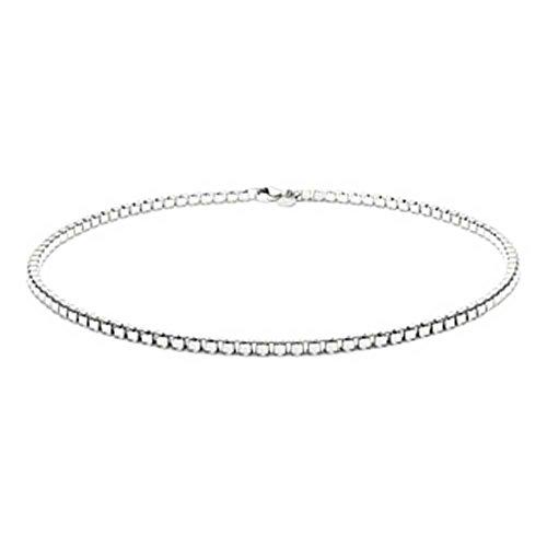 Bling Jewelry 925 Box veneziano collana della catena a maglia 500 (Veneziana Catena)