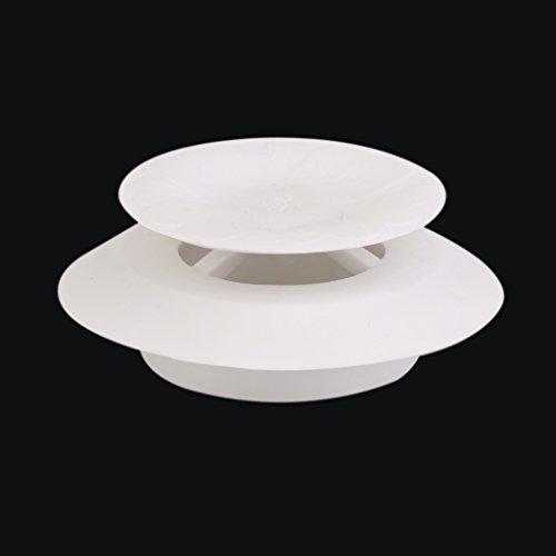 Sharplace Weiß Waschbeckenstöpsel Badewannenstöpsel Küche Bad aus Gummi