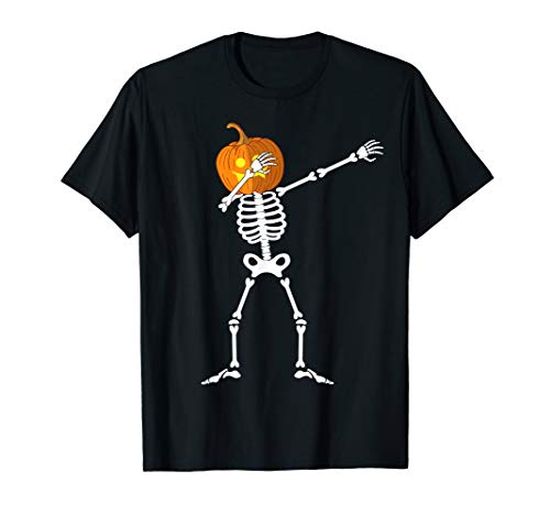 Tupfen Skelett Kürbiskopf Halloween Kostüm - Herr Kürbiskopf Kostüm