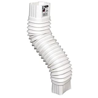AMERIMAX HOME PRODUCTS 37084 2x3 Flex Elbow, White