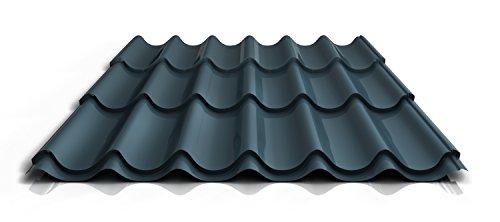 stahl-pfannenblech-ps47-1060rta-040-mm-25-um-polyester-farbedunkelgrau-lange6750-mm