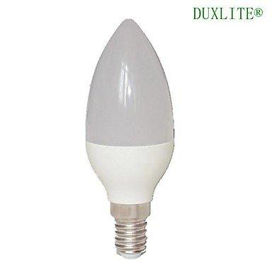 FDH E14 5W 15 SMD 3022 450 LM C35 blanco cálido Luces de velas LED AC 85-265 V