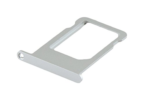ICONIGON Apple iPhone 5s / Se Support de Carte SIM Card Slot Tray Holder Argent Silver
