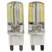 G9 64-LED SMD3014 220V-240V Energy-saving LED Lamp Bulb - White / Warm White