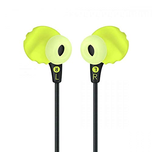 JBL Endurance Run Sweat-Proof Sports in-Ear Headphones with One-Button Remote and Microphone (Yellow) Image 2