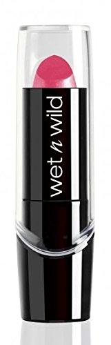 Wet n Wild - Silk Finish Lipstick- Pflegender Lippenstift mit Aloe Vera und Vitamine A und E, Pink Ice, 1 Stk. 20g - Wet N Wild-vitamine