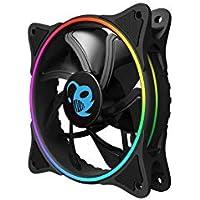 Ventilador 12CM COOLBOX Deep Iris 1100RPM A-RGB