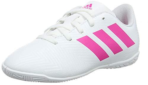 Adidas Nemeziz 18.4 IN J, Zapatillas de Deporte Unisex niño, Multicolor (Ftwbla/Rossen/Rossho 000), 37 1/3 EU