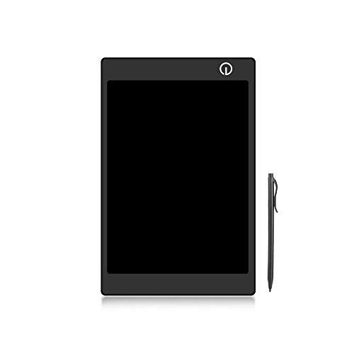 Farbenfrohes LCD-Schreib-Tablet mit Stift,tragbare Schreibtafel, LCD-Schreib- und Mal-Tablet, Geschenk für Kinder, 24,6 cm (9,7 Zoll) Black With One Color