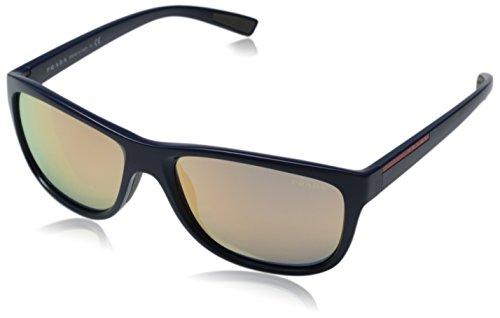 Prada Sport Herren Mod. 05Ps Sole Wayfarer Sonnenbrille, MA32D2