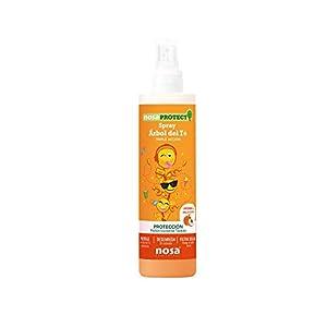 Nosaprotect, Spray triple acción Melocotón. Protección contra piojos. 250 ml.