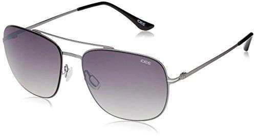 IDEE Gradient Square Men's Sunglasses - (IDS2064C2SG|57 Green Gradient lens) image