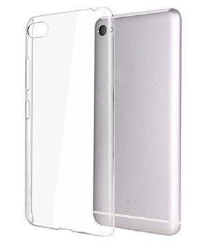 Ultra Thin 0.3mm Clear Transparent Flexible Soft TPU Slim Back Case Cover for Panasonic P55 novo