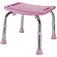 Bath chair Health UK Conjunto de Silla de Baño Ajustable Silla de Baño para Adultos Embarazadas