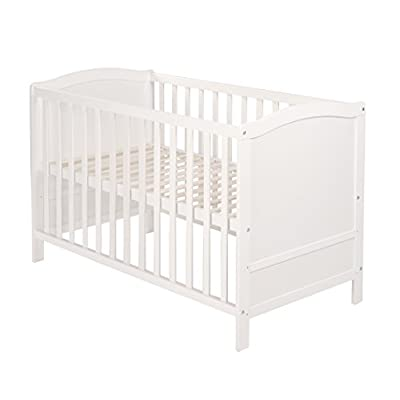 Roba 0175W Multifunction Bed with Side, White