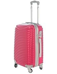 Maleta cabina 50 y 55 cm 4 ruedas trolley cascara dura adecuadas para vuelos de bajo coste art 2030