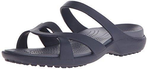 Crocs - meleen twist sandal - navy storm, dimensione:41-42
