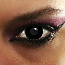 lentilles de couleur crazy black out (sans correction)