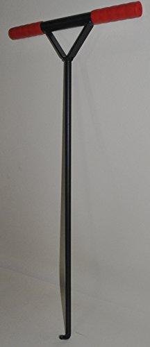 Preisvergleich Produktbild Kanaldeckelheber,16 mm, Schachtheber, Gulli, Kanal, Schacht, Bordsteintragezange