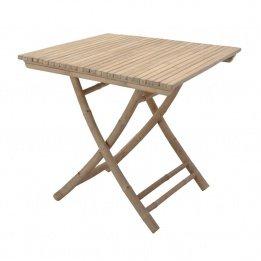 Beistelltisch quadratisch (78x 78) Bambus