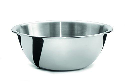 Weis 25236 Bol de Cuisine, Acier Inoxydable, Argent, 38 x 38 x 14,5 cm