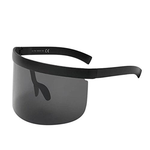 Trada Unisex Vintage Sonnenbrille Retro Oversized Frame Hut -