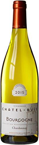 CHATEL-BUIS France Vin Blanc Bourgogne AOC Chardonnay 2015 75 cl