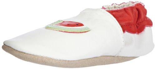 Jack & Lily Originals Watermelon Unisex-Baby Lauflernschuhe Weiß (Watermelon White) gsppHzoF4