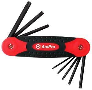 Ampro T22997 Clés Males Pouces, 1/16\