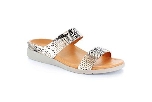 Strive Footwear - Zapatillas de Piel Vuelta para mujer, color negro, talla 42